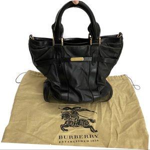 Burberry London Leather Salisbury Tote Black